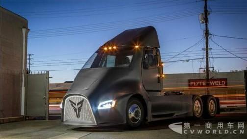 雷神托尔纯电动卡车发布 售价比特斯拉都贵