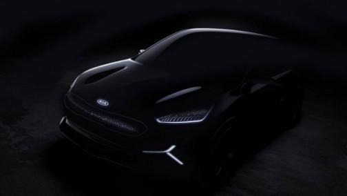 CES亮相 起亚公布Niro EV概念车预告图