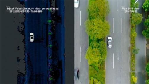 博世高精定位服务BSR完成初测 将用百万车辆众包搞定高精地图