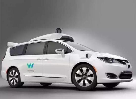 谷歌自动驾驶,克莱斯勒Pacifica,自动驾驶测试用车