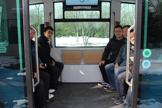 无人驾驶迷你公交,东南大学无人驾驶