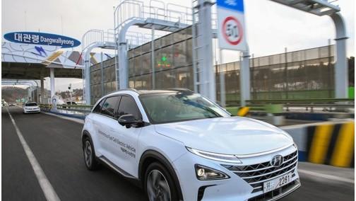 现代计划2020年氢燃料电池汽车销量突破1万辆 加氢5分钟行609公里
