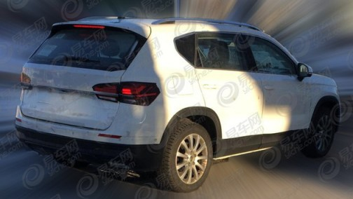 或为国产版西雅特Ateca,大众新款SUV谍照曝光