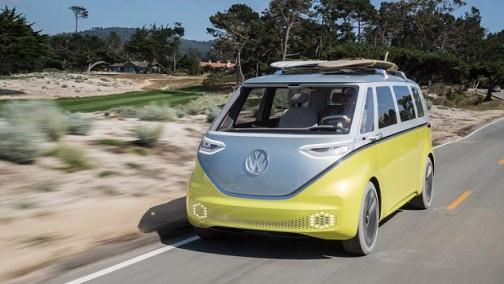 大众最新版电动多功能车I.D.Buzz将于2020年上路