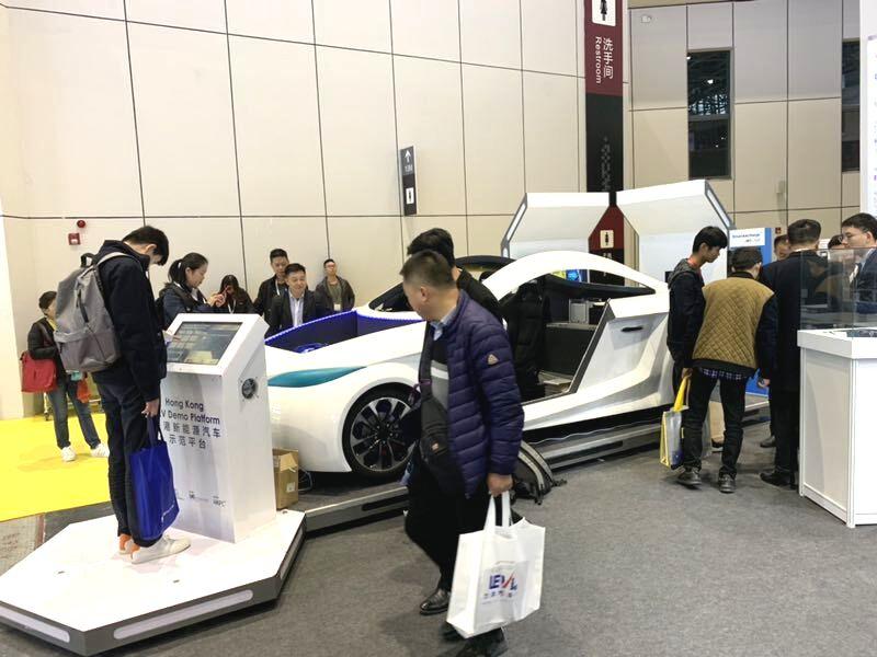 香港新能源汽车产业展馆亮相第十四届automechanika shanghai展览会