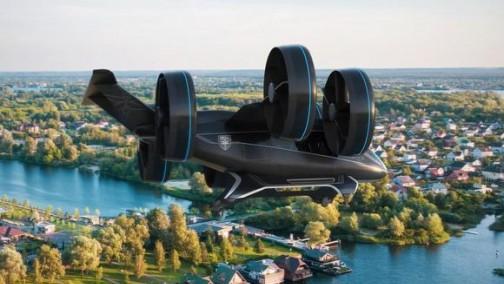 贝尔在CES上展示新款空中出租车Nexus 可为用户提供增强现实体验