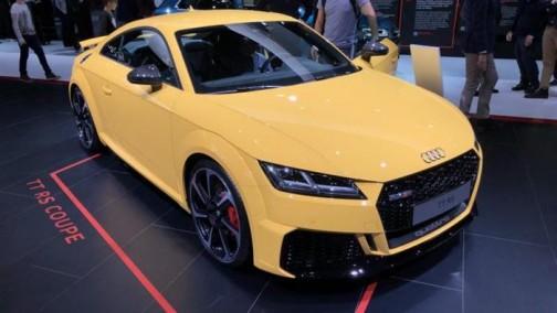 2019日内瓦车展:奥迪新款TT RS首发