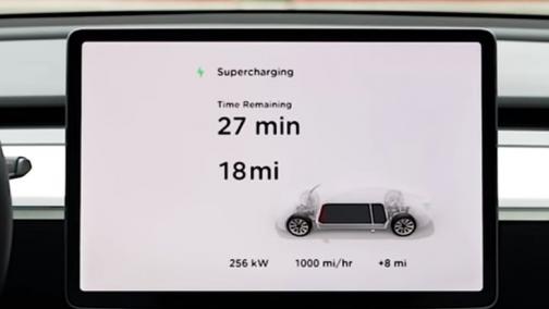 250KW!15分钟充电50%!特斯拉Supercharger V3发布,电动车3G时代要来了?!