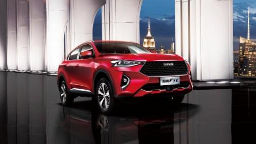 轿跑SUV实力新秀,哈弗F7x满足你的挑剔眼光!