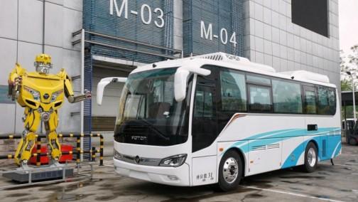 北汽福田、丰田、亿华通合作推出氢燃料客车