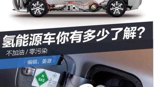 不加油/零污染 氢能源车你有多少了解?