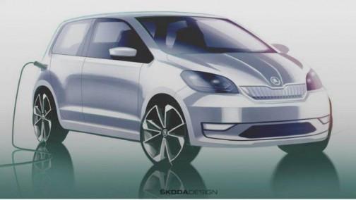品牌首款电动车诞生 斯柯达Citigo-e iV将于下周发布