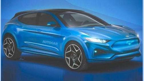 福特首款纯电SUV曝光!续航达595km/年内亮相