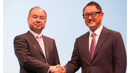 共同布局自动驾驶,五大车企联合加入丰田软银合资公司