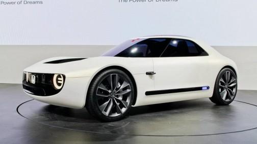 本田全新电动跑车专利图曝光,有点像零跑?
