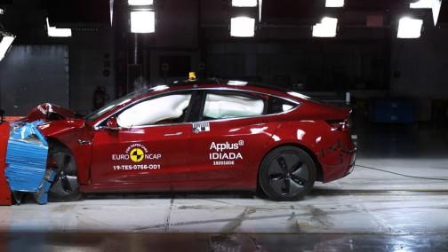 全场最佳 解读特斯拉Model 3碰撞测试
