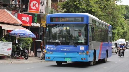 柬埔寨金边智能公交APP上线启用