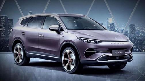 腾势X将于广州车展上市 纯电版续航达500公里以上