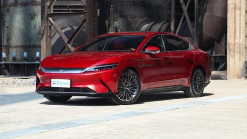 比亚迪汉EV欧洲首发 预计售4.5-5.5万欧元
