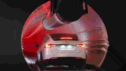 车圈 马斯克的城市隧道支持使用特斯拉车型 新增3种车站类型