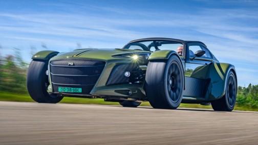 手工跑车荷兰速度勐兽─Donkervoort全新D8 GTO开始贩售