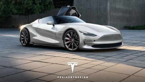 特斯拉史上最快的电动车Roadster的革命性刮水器设计获美国专利批准