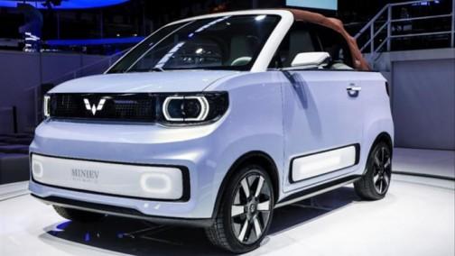 2021上海车展 | 五菱宏光推出敞篷车,MINIEV CABRIO于2022年量产