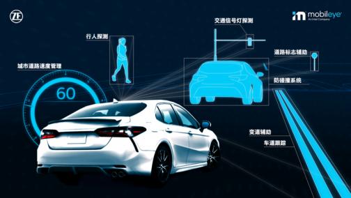 丰田汽车选用Mobileye和采埃孚的安全技术