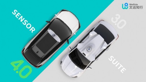 文远知行发布小尺寸轻量化自动驾驶传感器套件 为规模化量产打造:轻巧可靠、高度集成、快速安装